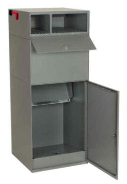 U.S.P.S Approved Curbside Vault w/ Locking Letterbox Model DVCS