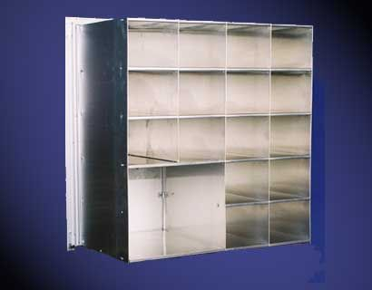 Front Loading Horizontal Mailboxes 7 High x 3 Wide