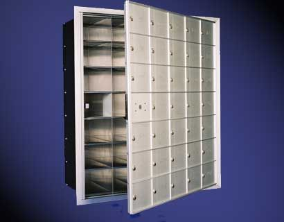 Front Loading Horizontal Mailboxes 6 High x 4 Wide