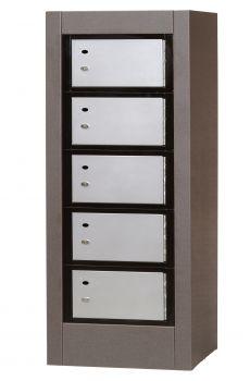 Freestanding Parcel Locker Cabinet w/ 24