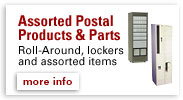 Assorted Postal Products & Parts