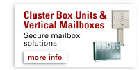 Cluster Box Units & Vertical Mailboxes