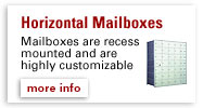 Horizontal Mailboxes